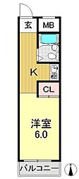 宝樹レジデンス[3階]の間取り