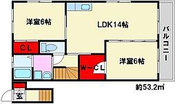 さなえ館2[2階]の間取り