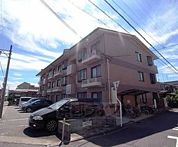 京都府京都市右京区太秦森ヶ前町の賃貸マンションの外観