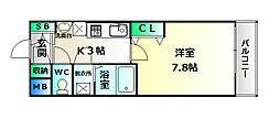 クリアパール垂水[3階]の間取り