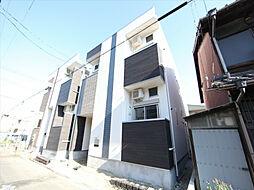 愛知県名古屋市中村区藤江町3丁目の賃貸アパートの外観