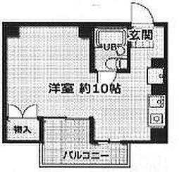 ジュネス姫路I[802号室]の間取り