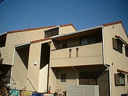兵庫県西宮市堤町の賃貸アパートの外観