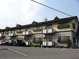 栃木県下野市緑2丁目の賃貸アパートの外観