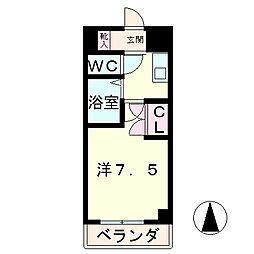 アイランド小野山[7階]の間取り
