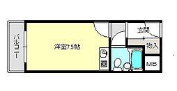 ドムス千代田[3階]の間取り
