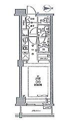 クリオ平和島 bt[205kk号室]の間取り
