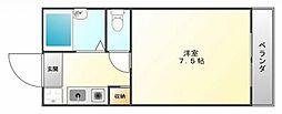 メゾンイズミ[2階]の間取り