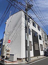 東京都中野区野方1丁目の賃貸アパートの外観
