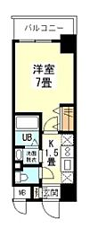 ジュネス高津公園[9階]の間取り