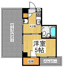 本多ビル[3階]の間取り