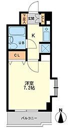 神奈川県相模原市緑区橋本3丁目の賃貸アパートの間取り