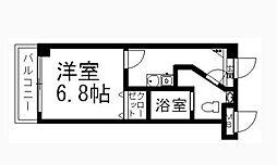 エムゼック・ルネス横須賀[411号室]の間取り