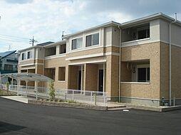 愛知県一宮市北小渕字南切の賃貸アパートの外観