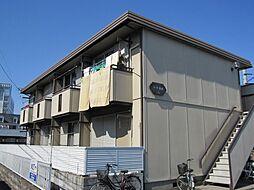 埼玉県川越市的場北1丁目の賃貸アパートの外観