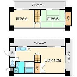 マッハ87[8階]の間取り