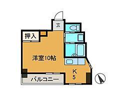 グレイス・ミコ[6階]の間取り