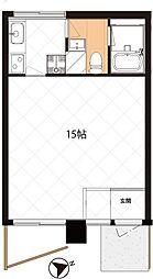北前野コーポ[103号室]の間取り