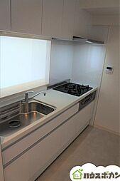 新築同様ピカピカのキッチンを使用していただけます。