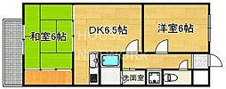 アフリー太田II[305号室号室]の間取り