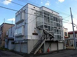 北海道札幌市東区北二十三条東3丁目の賃貸アパートの外観