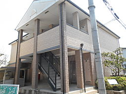 大阪府堺市西区浜寺船尾町西2丁の賃貸アパートの外観
