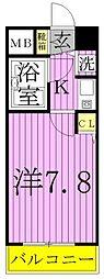 ライオンズマンション綾瀬・谷中公園[8階]の間取り
