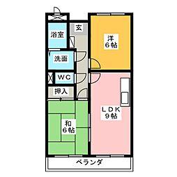 LimpiaGrace[3階]の間取り