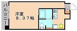 クラッシ—博多[2階]の間取り