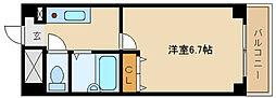 兵庫県尼崎市塚口町1丁目の賃貸マンションの間取り