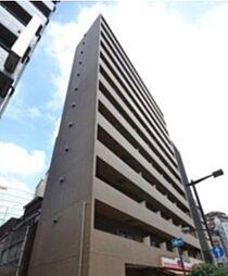 東京都千代田区飯田橋2丁目の賃貸マンションの外観