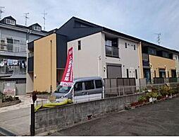 大阪府大阪市東住吉区照ケ丘矢田4の賃貸アパートの外観