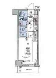 リヴシティ横濱インサイトII[3階]の間取り