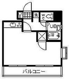 センチュリー丸島[601号室]の間取り