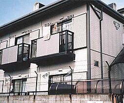 京都府京都市右京区山ノ内赤山町の賃貸アパートの外観