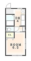 林ビル[2階]の間取り