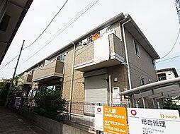 東京都足立区西伊興1丁目の賃貸アパートの外観