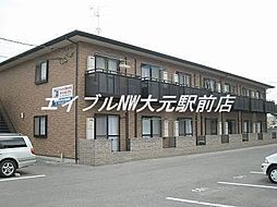 パークサイド岡南II[1階]の外観