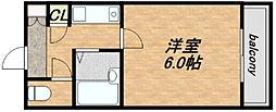 淡路ハイツ[7階]の間取り