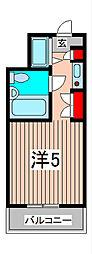 セントヒルズ武蔵浦和[1階]の間取り