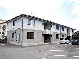 広島県安芸郡熊野町中溝4丁目の賃貸アパートの外観