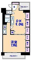 SATOMI-4番館[3階]の間取り