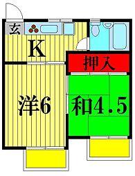 亀有駅 6.0万円