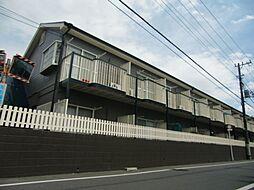 東京都昭島市中神町の賃貸アパートの外観