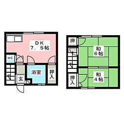 コーポ柴田[1階]の間取り