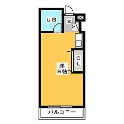 プリメゾン博多[7階]の間取り