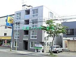 北海道札幌市東区北二十三条東13の賃貸マンションの外観