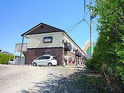 福島県福島市瀬上町字南中川原の賃貸アパートの外観