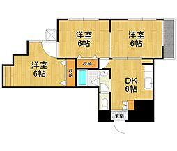 メゾンアヴァンセパート2[1階]の間取り