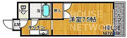 レジデンス丸高[305号室号室]の間取り